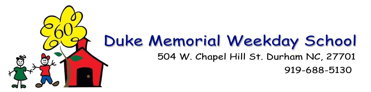 Duke Memorial Weekday School Logo